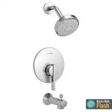 Berwick Water-Saving Bath/Shower Trim with Pressure Balance Cartridge  American Standard - Polished Chrome