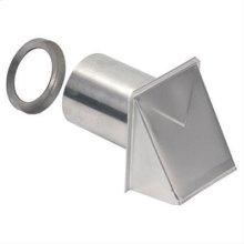 """Wall Cap, Aluminum, 4"""" Round Duct"""