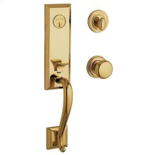 Lifetime Polished Brass Glennon Escutcheon Trim