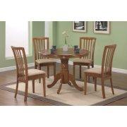 Brannan Casual Oak Dining Five-piece Set Product Image
