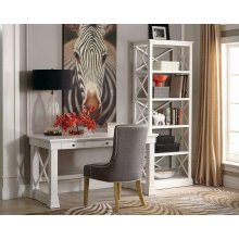 Johansson Antique White Bookcase