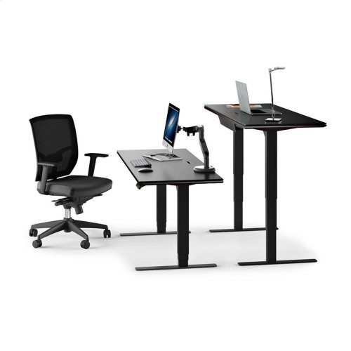 Lift Standing Desk 60 X 24 Top 6051 in Espresso