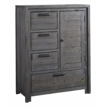 Chest - Distressed Dark Gray Finish