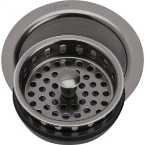 "Elkay 3-1/2"" Drain Fitting Antique Steel Finish Disposer Flange and Removable Strainer Product Image"