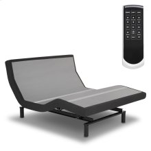Prodigy 2.0 Adjustable Bed Base with MicroHook Retention System, Charcoal Black Finish, Queen