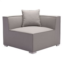 Fiji Corner Chair Gray