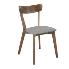 Dining Chair (2/Ctn) - Walnut Finish