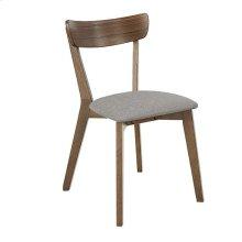 Dining Chair (2/Ctn) - Walnut Finish