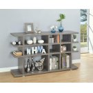 Contemporary Weathered Grey Bookcase Product Image
