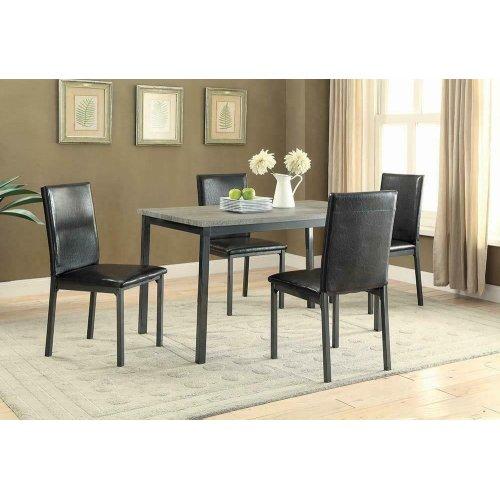 Garza Black Dining Table