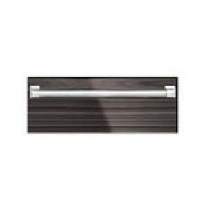 """27"""" Fully Integrated Stainless Steel Warming Drawer. Shown With Custom Wood Panel and ARWDH-27 Handle."""