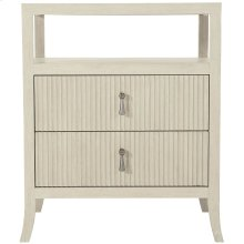 East Hampton Nighstand in Cerused Linen (395)