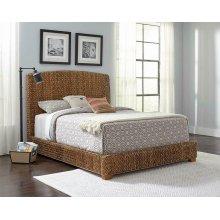 Laughton Rustic Brown Queen Bed