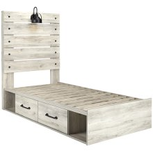 Cambeck - Whitewash 5 Piece Bed Set (Twin)