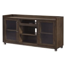 Extra Large TV Stand (Optional Fireplace Insert Available)