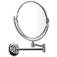 Satin Nickel (us15) Plain / magnifying (x3) pivotal mirror
