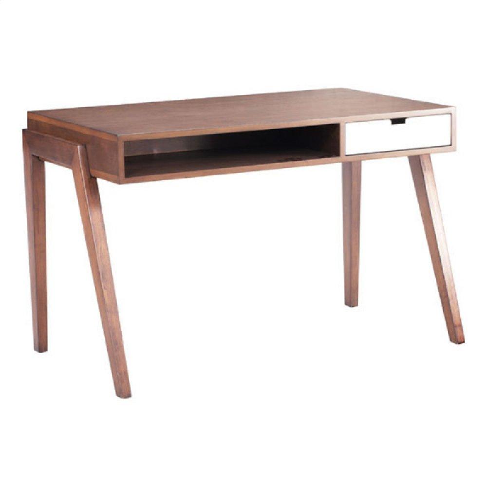 Linea Desk Walnut