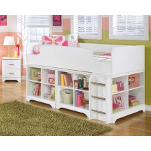 Lulu - White 5 Piece Bedroom Set