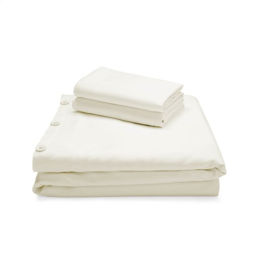 Rayon From Bamboo Duvet Set Oversized Queen Driftwood