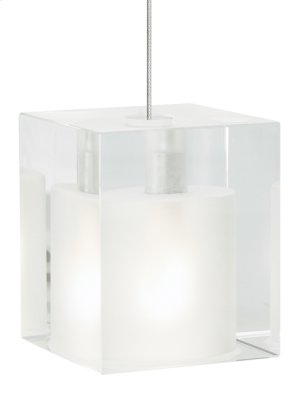 Frost Cube Pendant Product Image