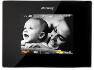 4IE WIFI enabled thermostat with touch-screen and energy monitoring Product Image