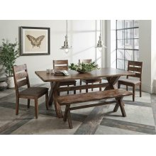 Alston Rustic Nutmeg Dining Table