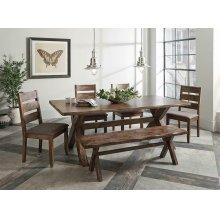 Alston Rustic Nutmeg Dining Table