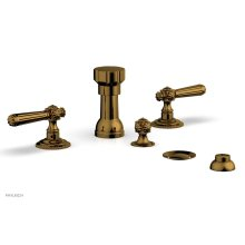 MARVELLE Four Hole Bidet Set 162-61 - French Brass