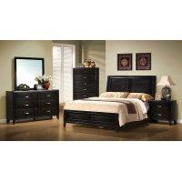 Nacey Dark Brown Queen Bed Product Image