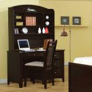 Phoenix Transitional Cappuccino Desk Product Image