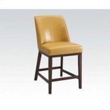 Yellow Counter Height Chair