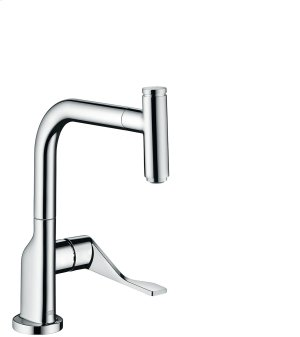 Chrome Single lever kitchen mixer Select 230 with pull-out spout Product Image