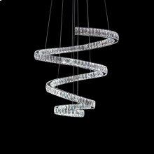 Crystal Spring LED Chandelier