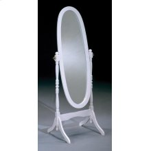 White Cheval Mirror