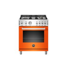 30 inch All Gas Range, 4 Brass Burner Arancio