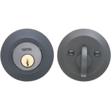 Modern Auxiliary Deadbolt Kit in (US10B Oil-Rubbed Bronze, Lacquered)