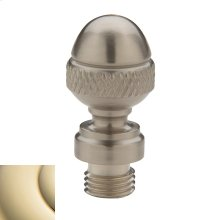 Lifetime Polished Brass Acorn Finial
