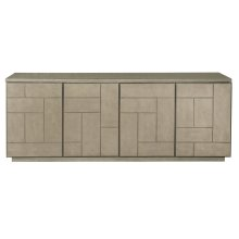 Mosaic Entertainment Console in Dark Taupe (373)
