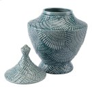 Escalera Lg Covered Jar Mint Product Image