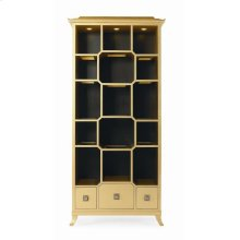 Chin Hua Peking Open Display Cabinet
