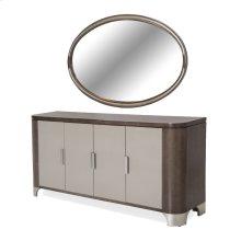 Sideboard & Mirror 2pc Slate