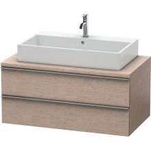 Happy D.2 Vanity Unit For Console, Cashmere Oak