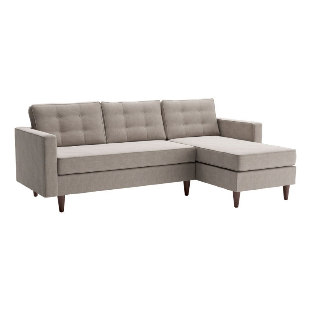 Puget Sectional Ash Gray