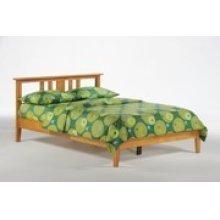 Thyme Bed in Medium Oak Finish