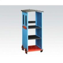 Blue/bk Train Bookcase