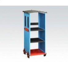 Blue/bk Train Bookcase