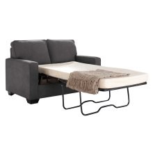 Zeb Twin Sofa Sleeper - Charcoal