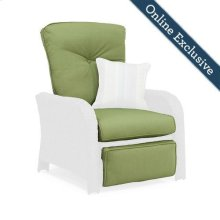 Sawyer Patio Recliner Replacement Cushion, Cilantro Green