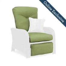 Sawyer Patio Recliner Replacement Cushion, Cilantro Green