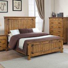 Brenner Rustic Honey Full Bed